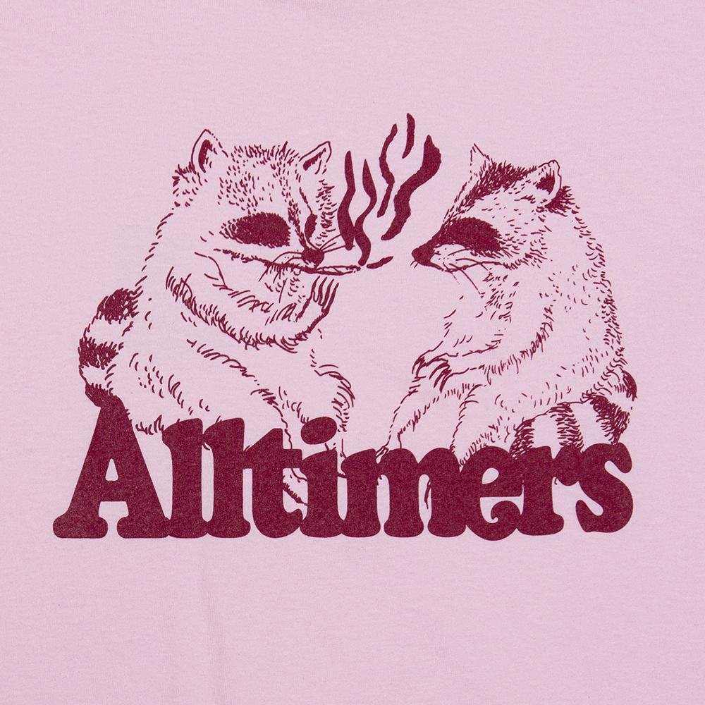 【ALLTIMERS/オールタイマーズ】RACOONS SMORKING POT TEE Tシャツ / PINK