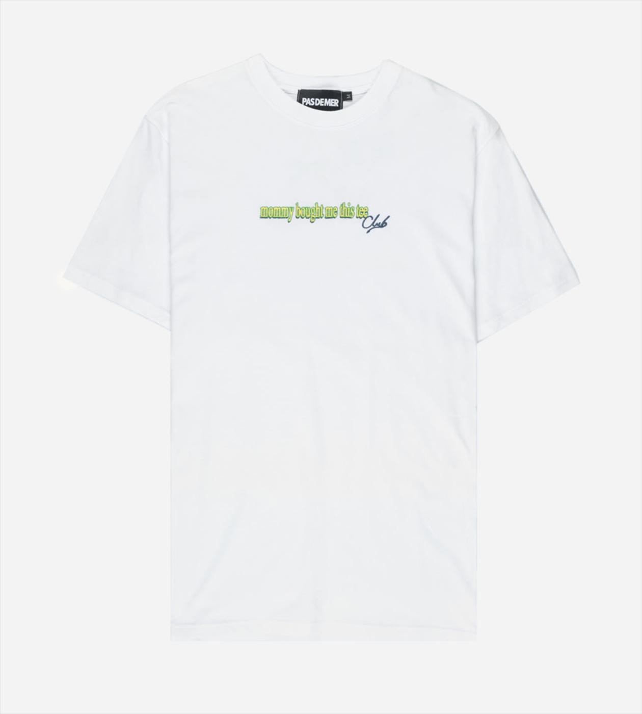 【PAS DE MER/パドゥメ】MOMMY T-SHIRT Tシャツ / WHITE