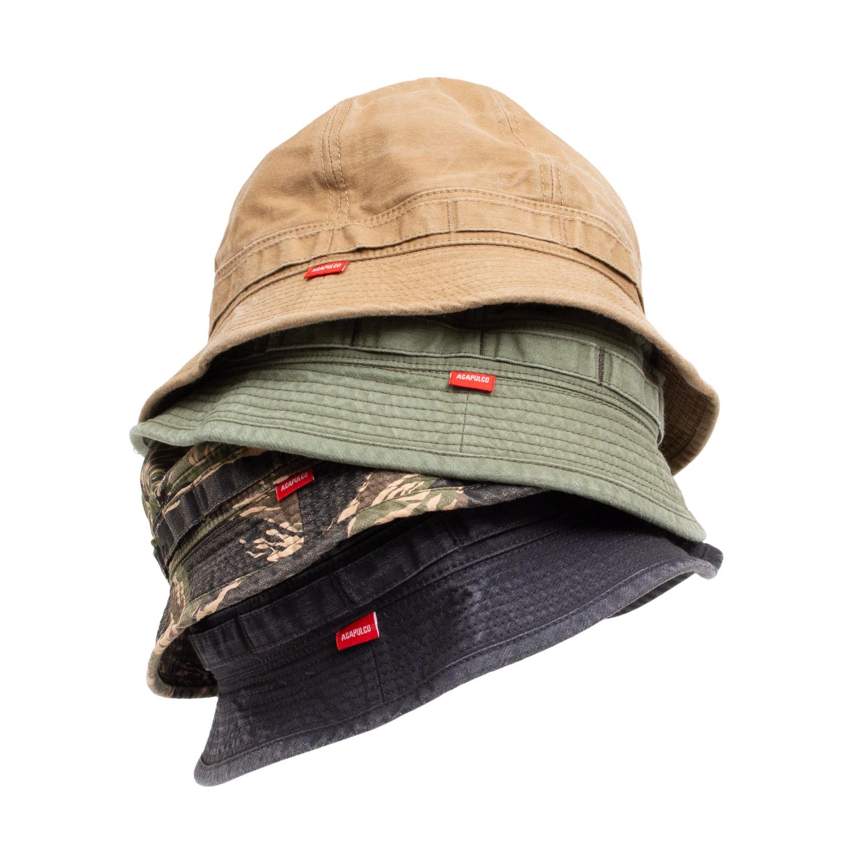 【ACAPULCO GOLD/アカプルコ ゴールド】BUCKET HAT バケットハット / TIGER STRIPE