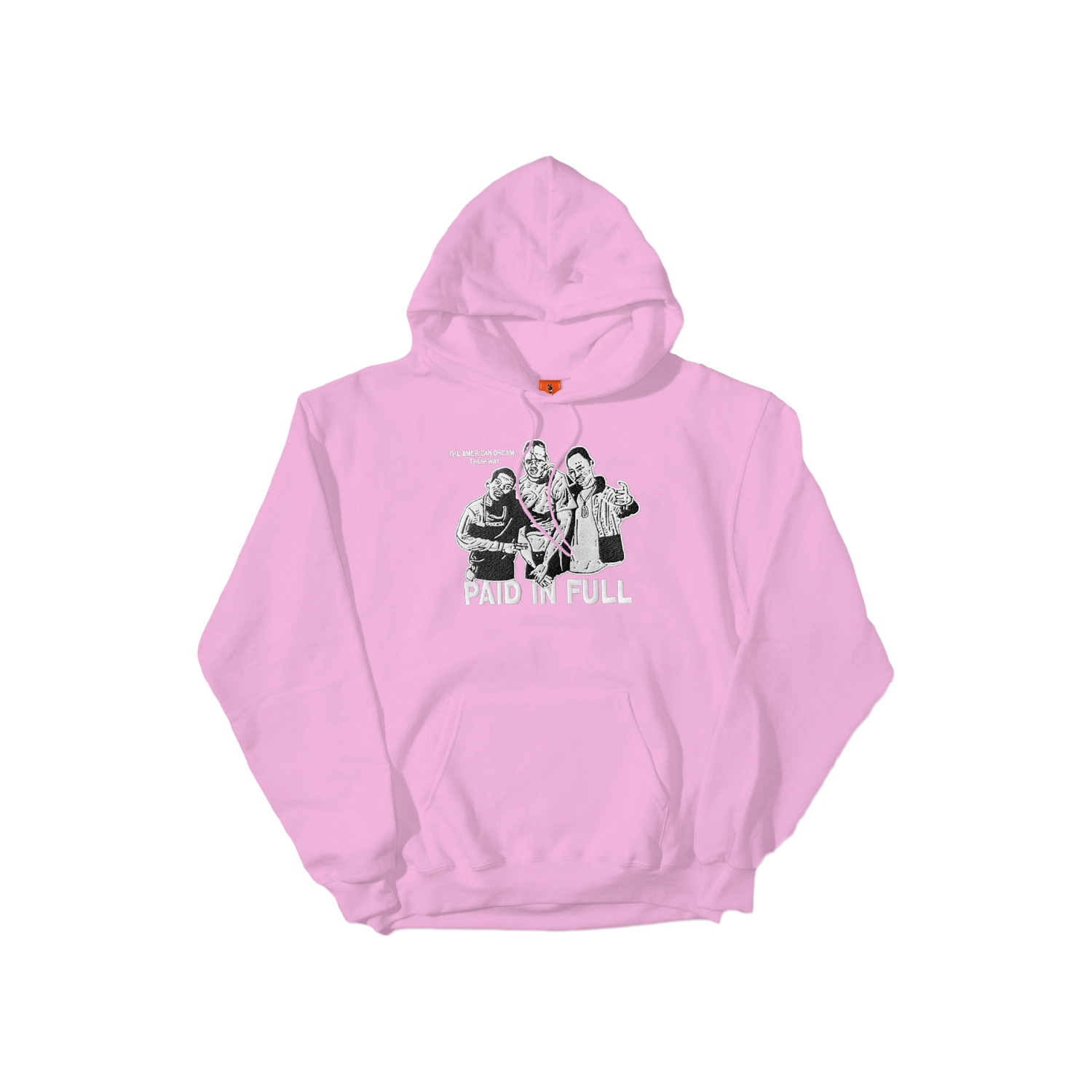 【COLD WORLD FROZEN GOODS/コールドワールドフローズングッズ】PAID IN FULL HOODIE パーカー / CAM'RON PINK