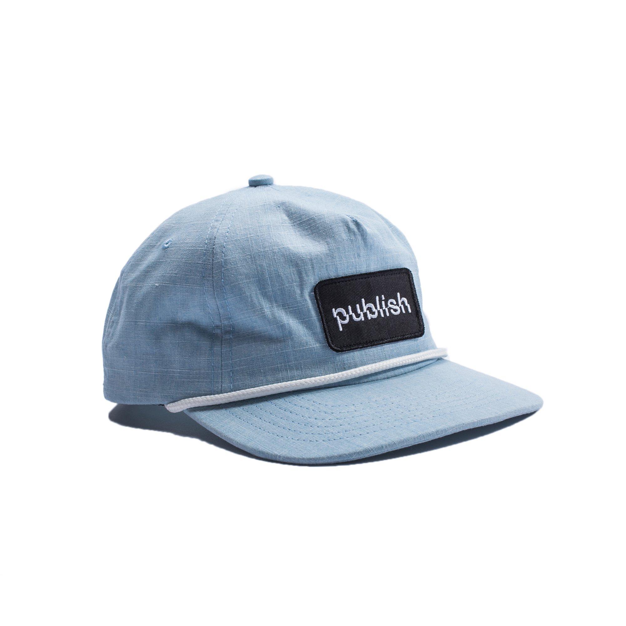 【PUBLISH BRAND/パブリッシュブランド】INDEE スナップバックキャップ / LT BLUE