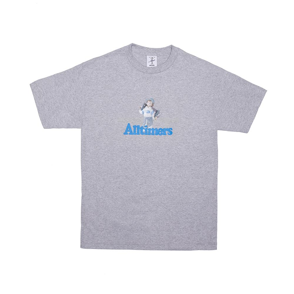 【ALLTIMERS/オールタイマーズ】LIL ANGEL TEE Tシャツ / HEATHER