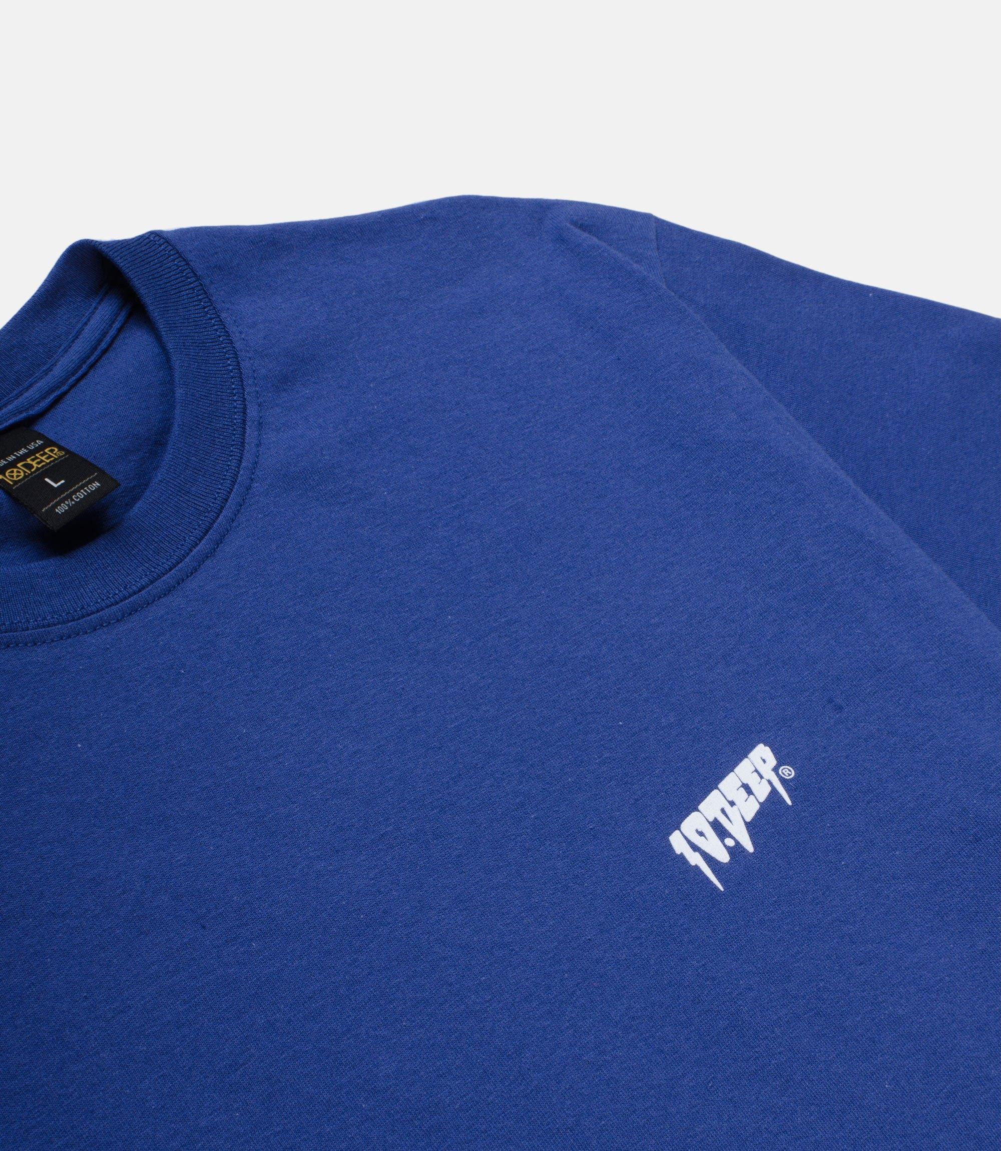 【10DEEP/テンディープ】SOUND&FURY Tシャツ / BLUE