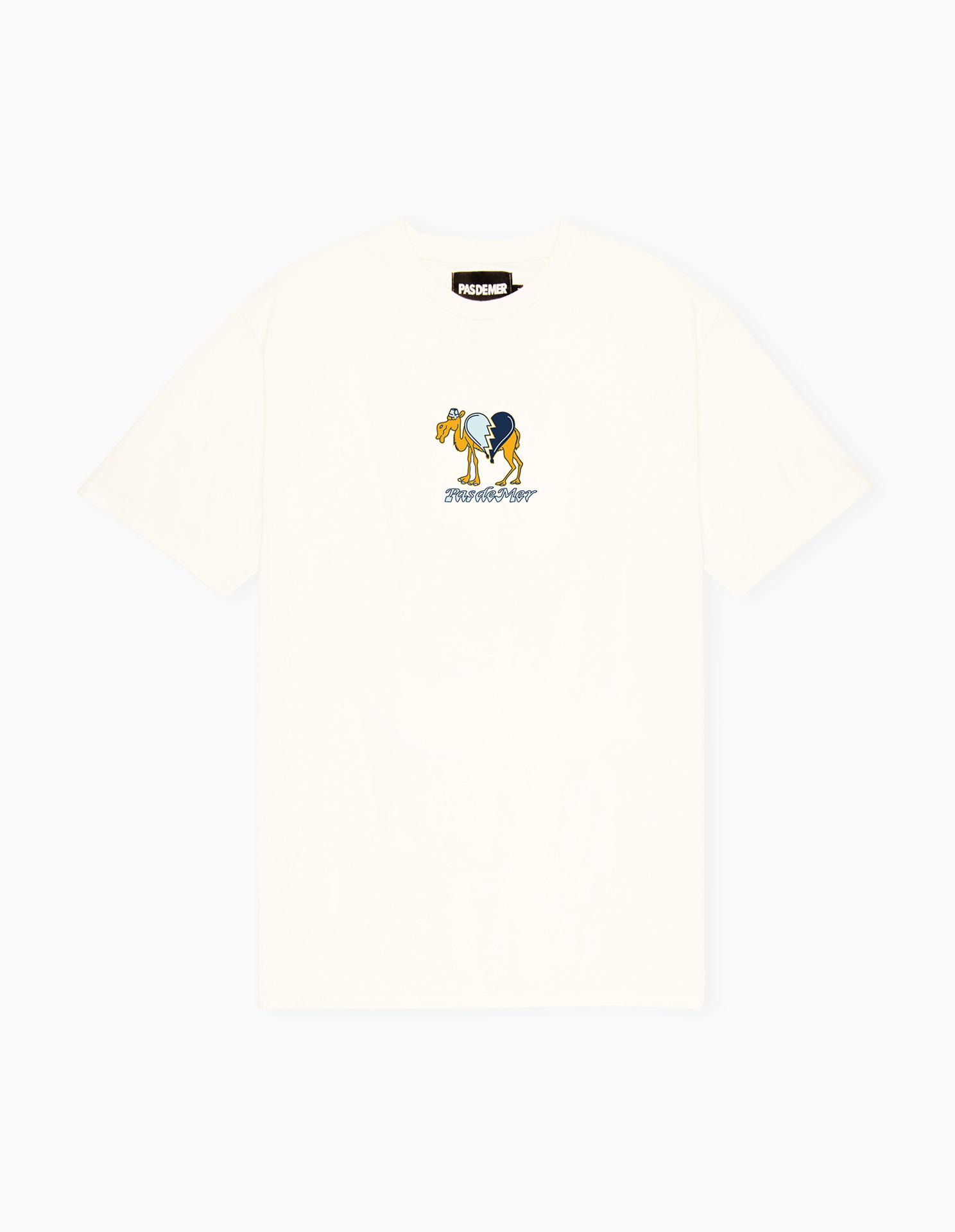 【PAS DE MER/パドゥメ】CAMEL T-SHIRT Tシャツ / NATURAL