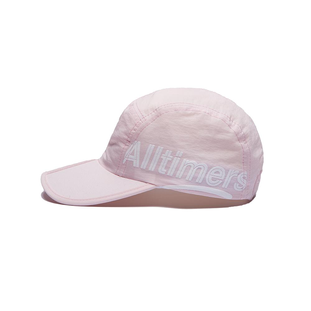 【ALLTIMERS/オールタイマーズ】ESTATE SIDE FOLDABLE HAT キャップ / PINK