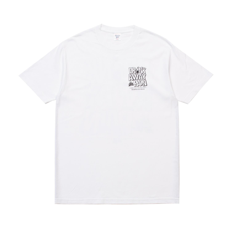 【ACAPULCO GOLD/アカプルコ ゴールド】SITUATION TEE Tシャツ / WHITE
