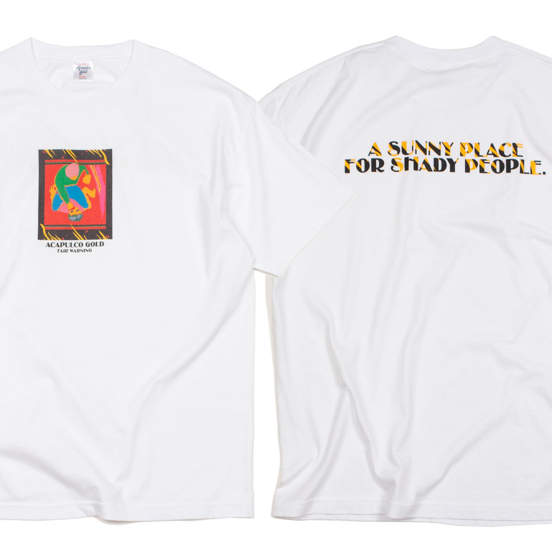 【ACAPULCO GOLD/アカプルコ ゴールド】THE HUNT IS ON TEE Tシャツ / WHITE
