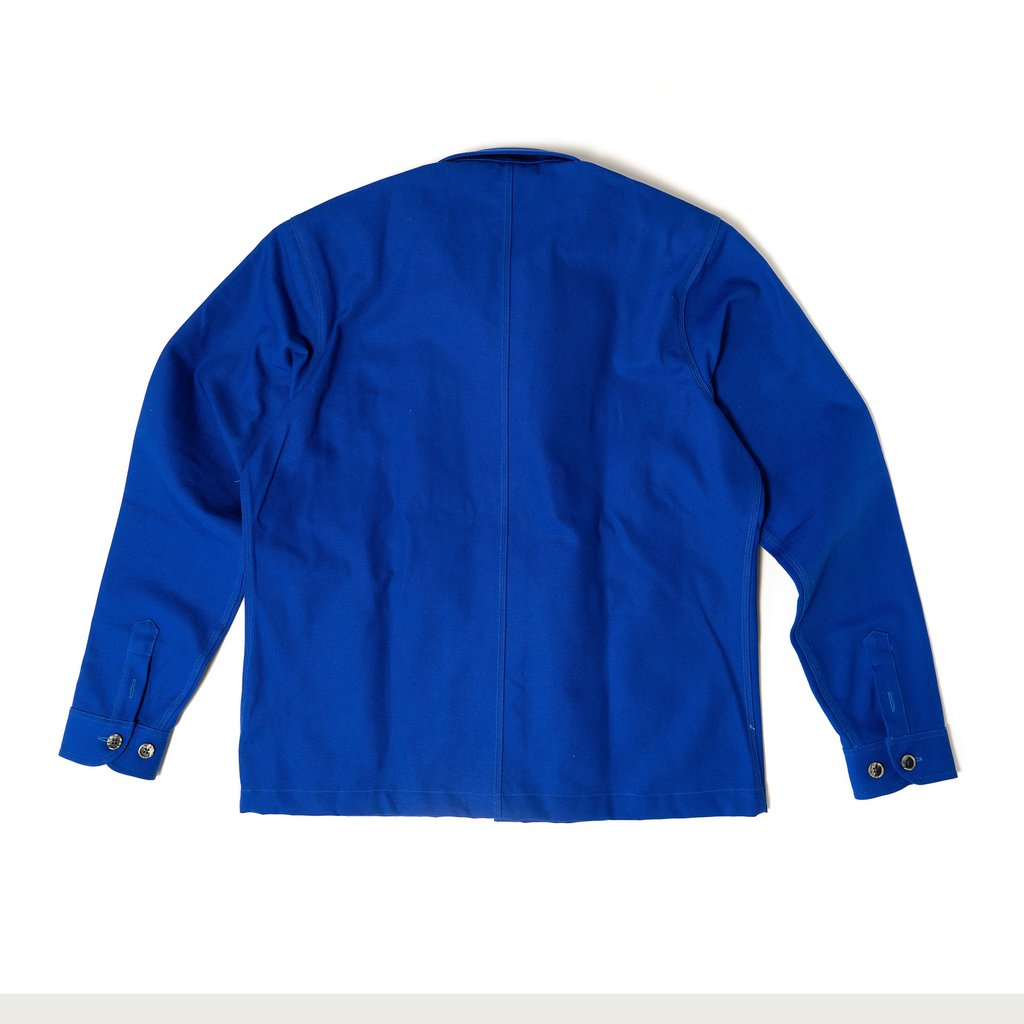 【RAISED BY WOLVES/レイズドバイウルブス】DIY BLEU DE TRAVAIL 長袖シャツ / ROYAL BLUE