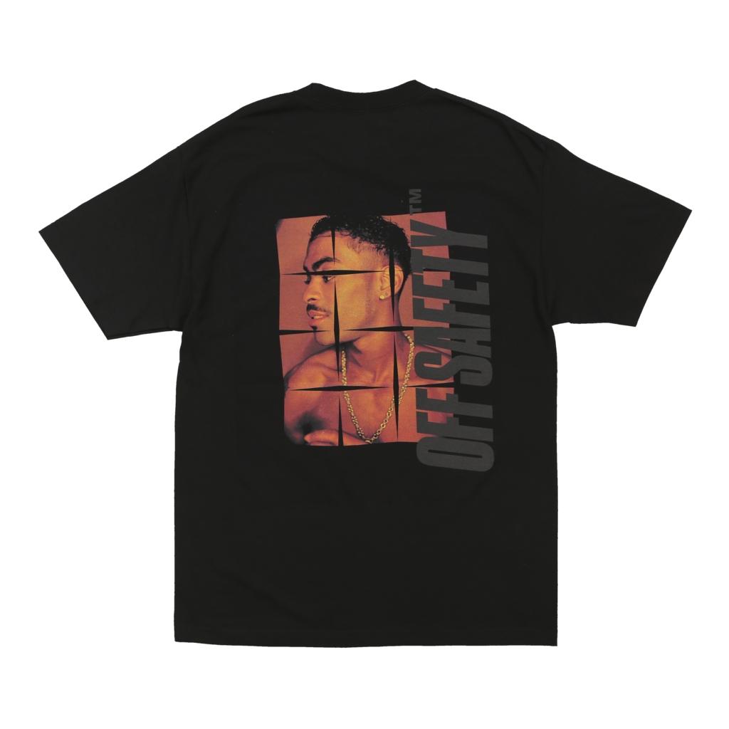 【OFF SAFETY/オフセーフティー】ANXIETY TEE Tシャツ / BLACK