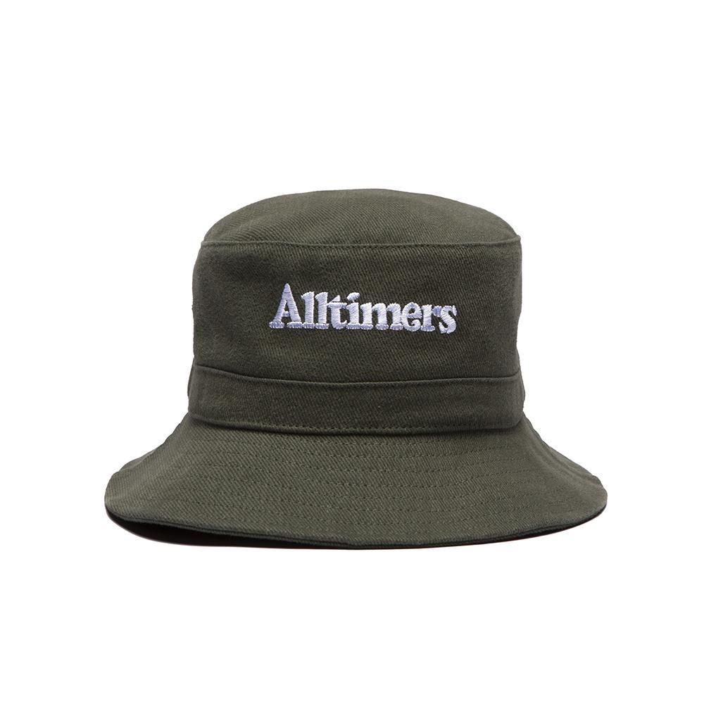 【ALLTIMERS/オールタイマーズ】NEIGHBORS FISHING BUCKET HAT バケットハット / FOREST GREEN