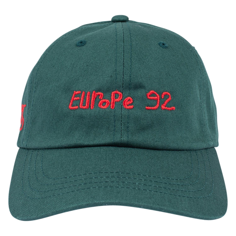 【PLEASURES/プレジャーズ】EUROPE 92 POLO HAT ポロハット / DARK GREEN