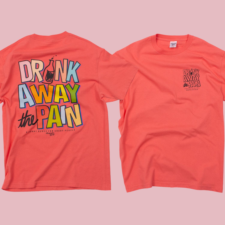 【ACAPULCO GOLD/アカプルコ ゴールド】SITUATION TEE Tシャツ / CORAL