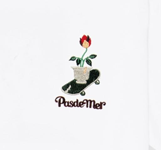 【PAS DE MER/パドゥメ】DOPIUM T-SHIRT Tシャツ / WHITE