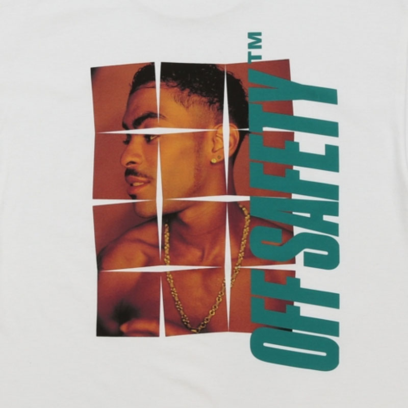【OFF SAFETY/オフセーフティー】ANXIETY TEE Tシャツ / WHITE