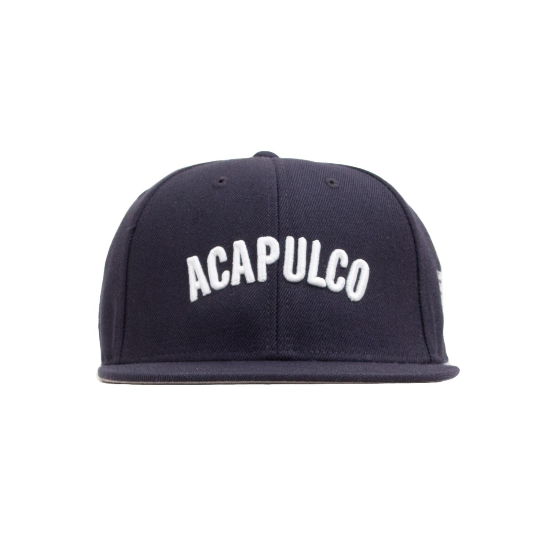 【ACAPULCO GOLD/アカプルコ ゴールド】STANDARD 6 PANEL SNAPBACK 6パネルキャップ / NAVY