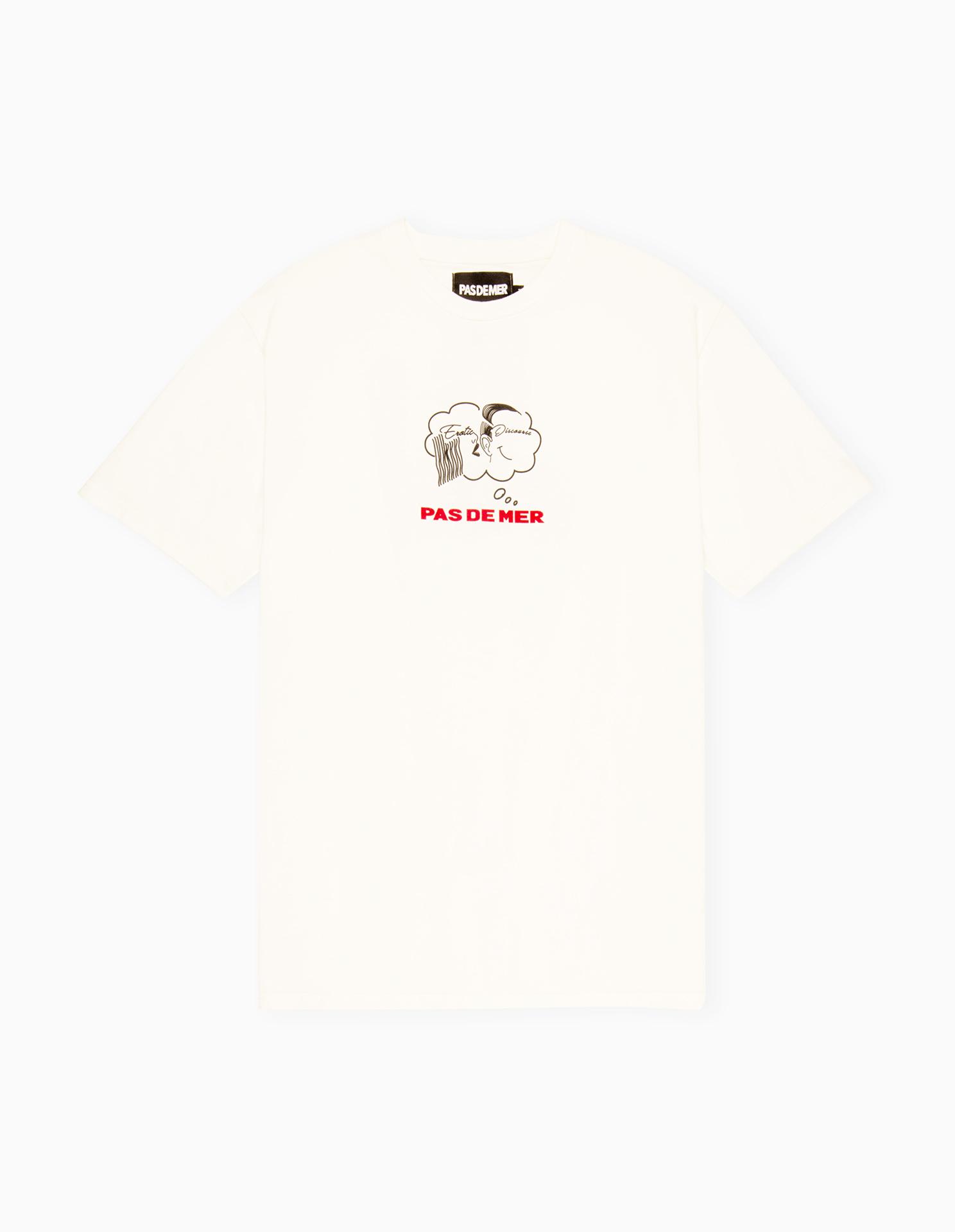 【PAS DE MER/パドゥメ】EROTIC DISCOURSE T-SHIRT Tシャツ / NATURAL
