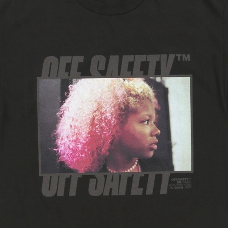 【OFF SAFETY/オフセーフティー】YARD SALE TEE Tシャツ / BLACK