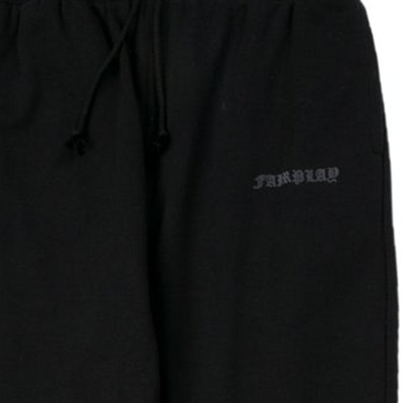 【FAIRPLAY BRAND/フェアプレイブランド】HOPPER フレンチテリーバギーランナーパンツ / BLACK