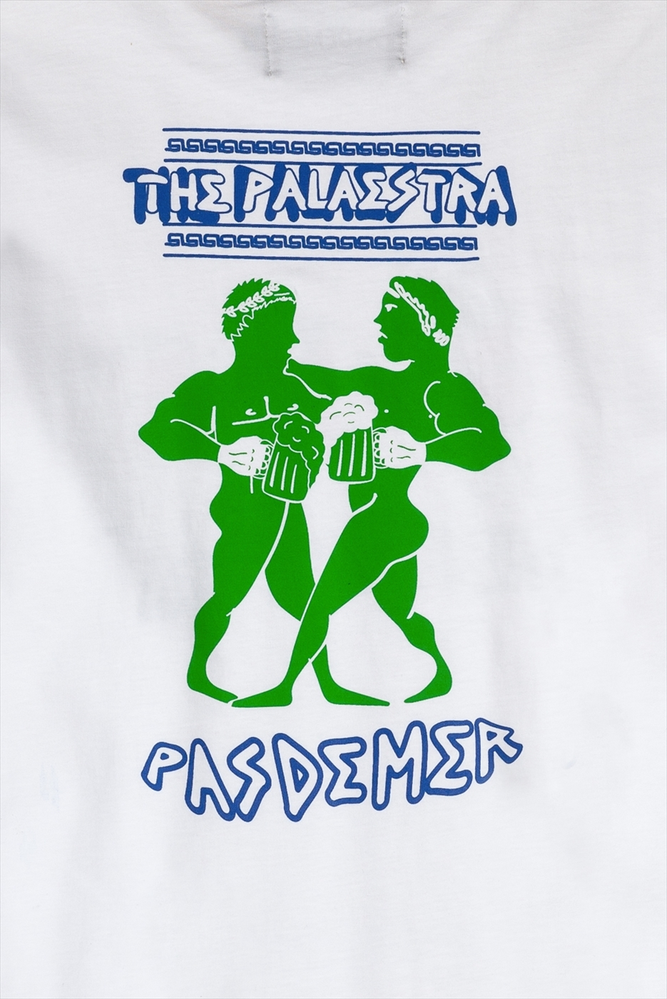 【PAS DE MER/パドゥメ】PALAESTRA LONGSLEEVE 長袖Tシャツ / WHITE