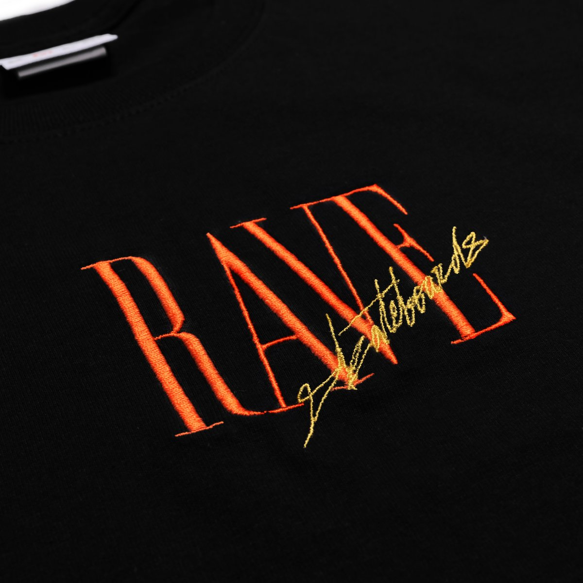 【RAVE SKATEBOARDS/レイブスケートボード】TRACY TEE Tシャツ / BLACK
