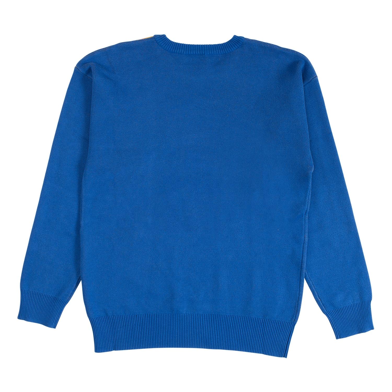 【PLEASURES/プレジャーズ】GOOD TIME SWEATER セーター / ROYAL