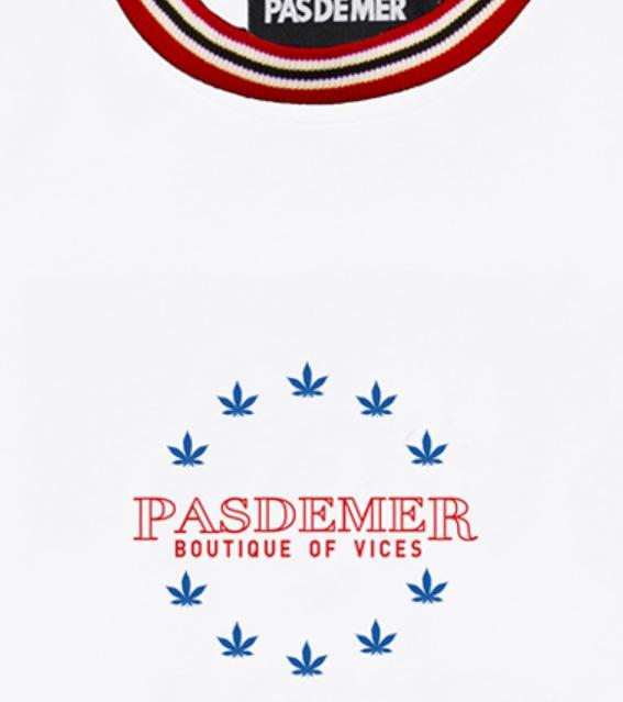 【PAS DE MER/パドゥメ】EUROPE T-SHIRT Tシャツ / WHITE