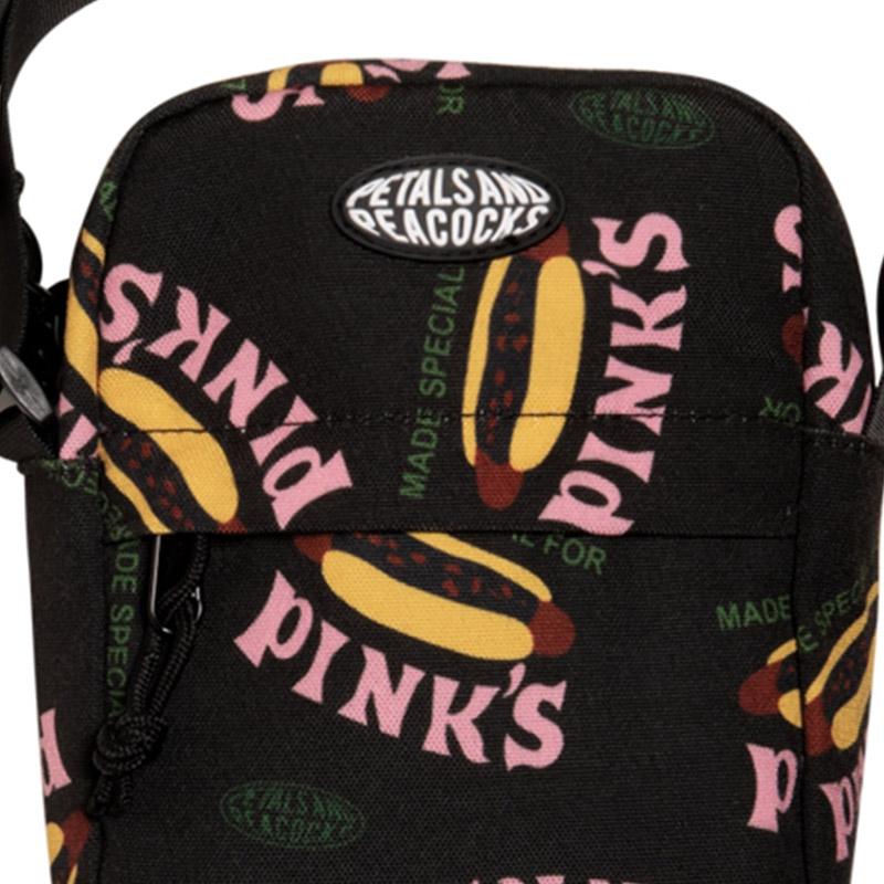 【PETALS AND PEACOCKS / ペタルズ アンド ピーコックス × PINK'S / ピンクス】MADE SPECIAL SHOULDER BAG ショルダーバッグ / BLACK