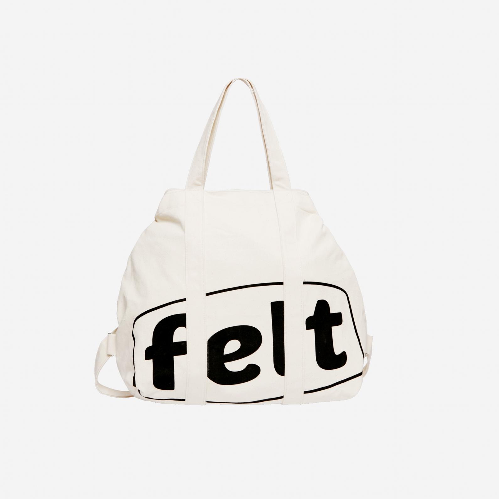 【FELT/フェルト】NAKAMEGURO CANVAS TOTE BAG トートバッグ / NATURAL