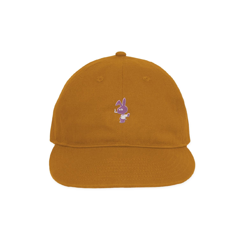 【COLD WORLD FROZEN GOODS/コールドワールドフローズングッズ】BROWN BUNNY HAT キャップ / SADDLE BROWN