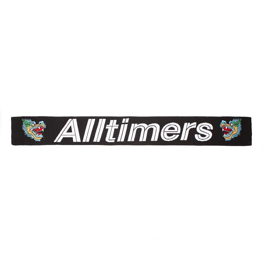 【ALLTIMERS/オールタイマーズ】WHAT A DRAG SCARF スカーフ / BLACK