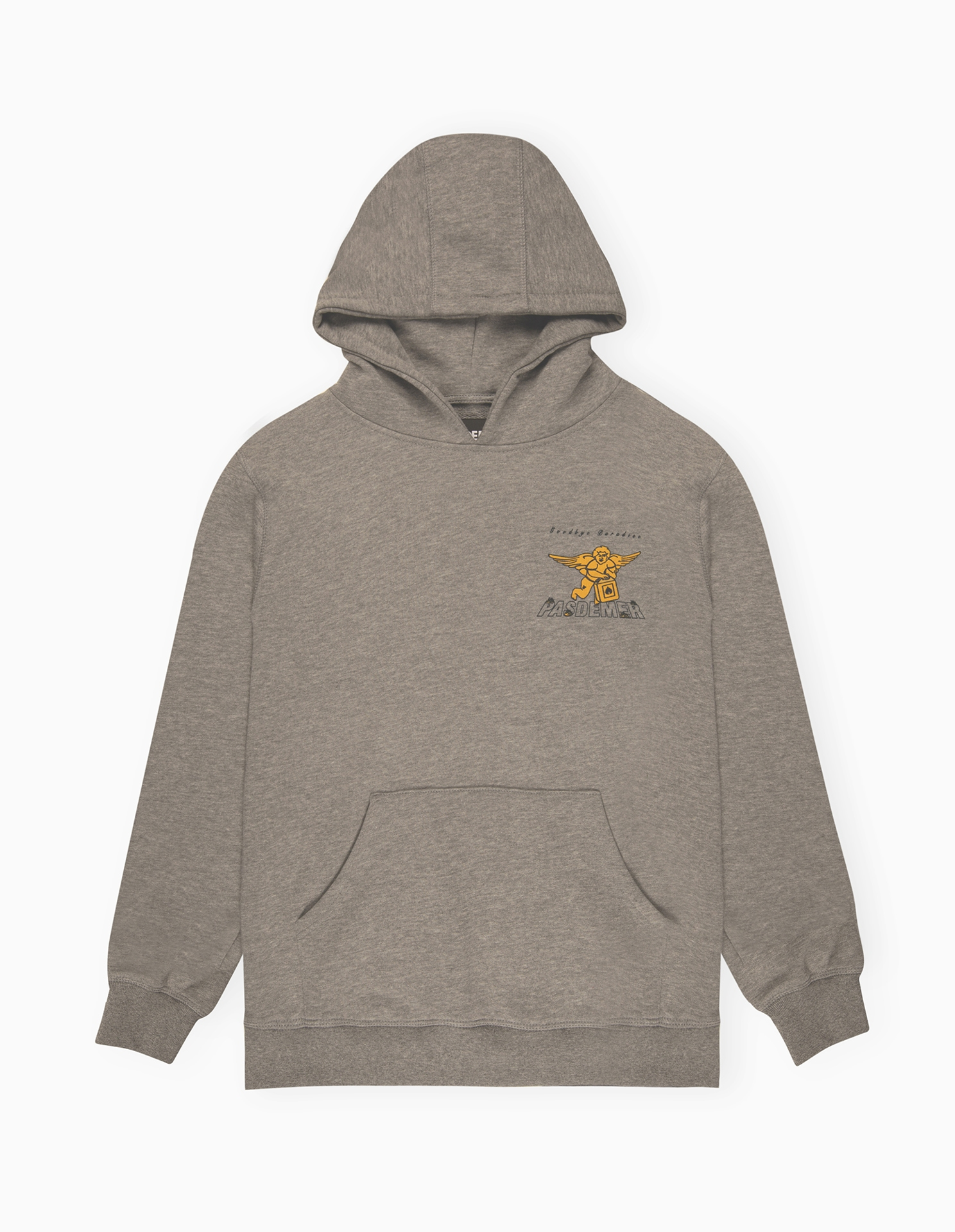 【PAS DE MER/パドゥメ】GOODBYE PARADISE LT.WEIGHT HOODY パーカー / GREY