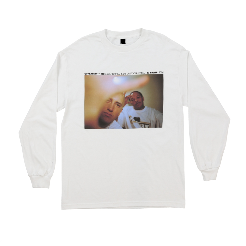 【OFF SAFETY/オフセーフティー】FORGOT ABOUT DRE LS TEE ロングTシャツ / WHITE