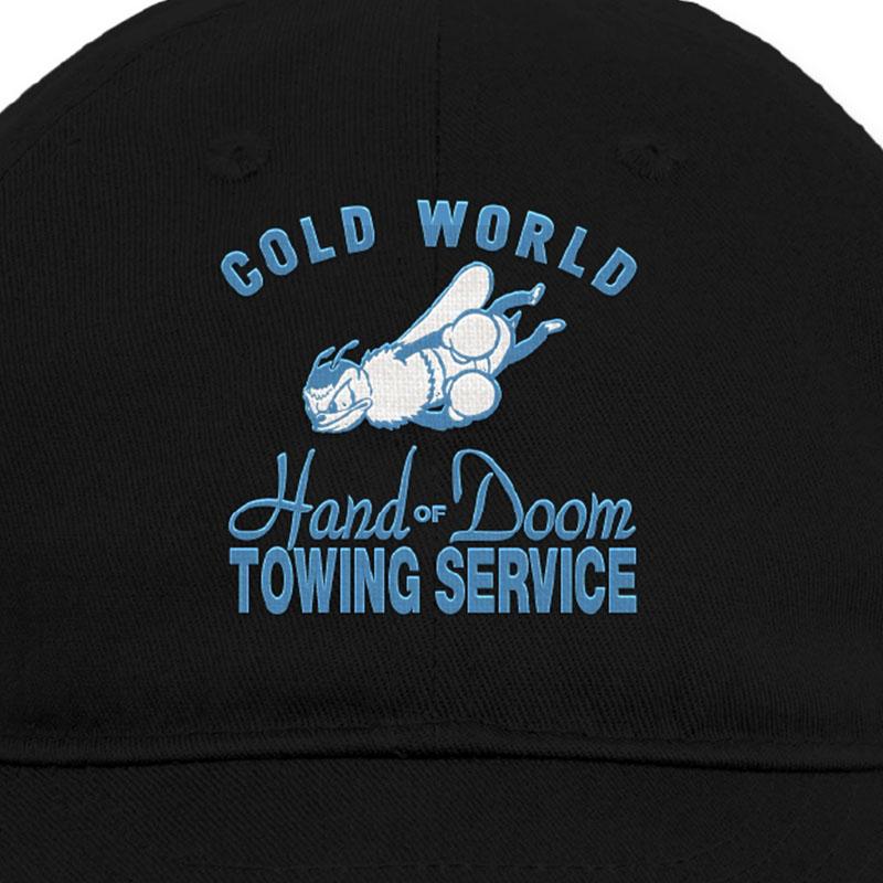 【COLD WORLD FROZEN GOODS/コールドワールドフローズングッズ】HAND OF DOOM 6 PANEL HAT キャップ /