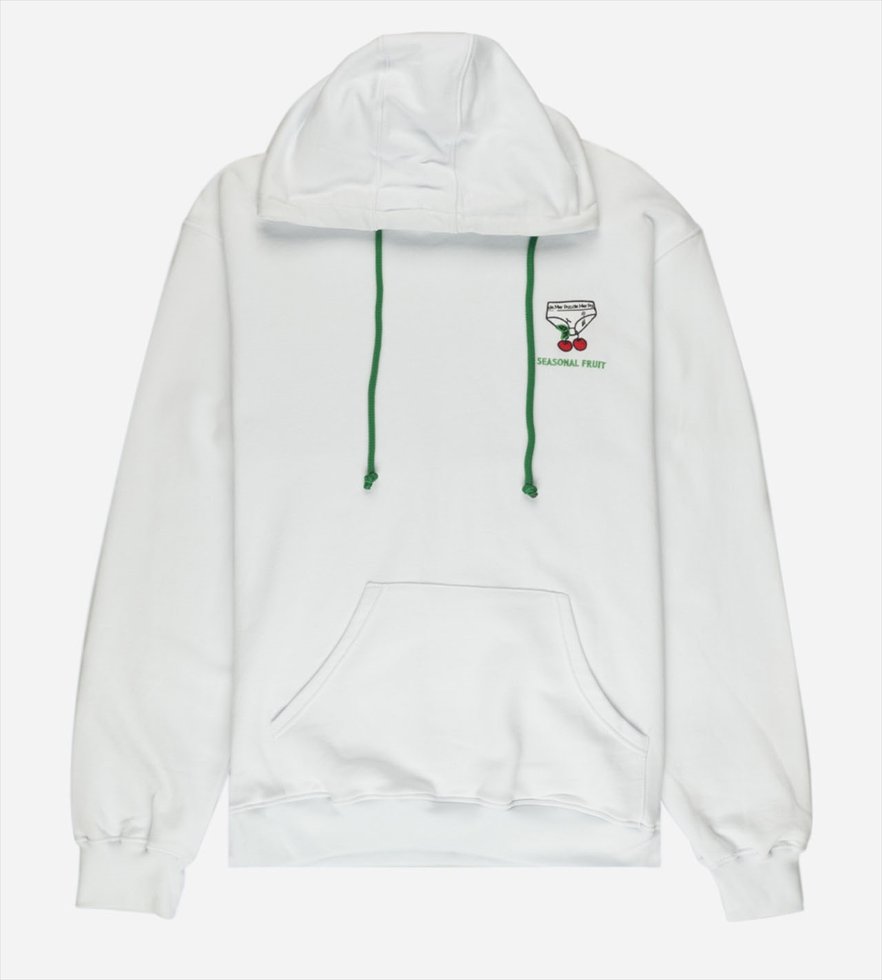 【PAS DE MER/パドゥメ】SEASONAL HOODY パーカー / WHITE