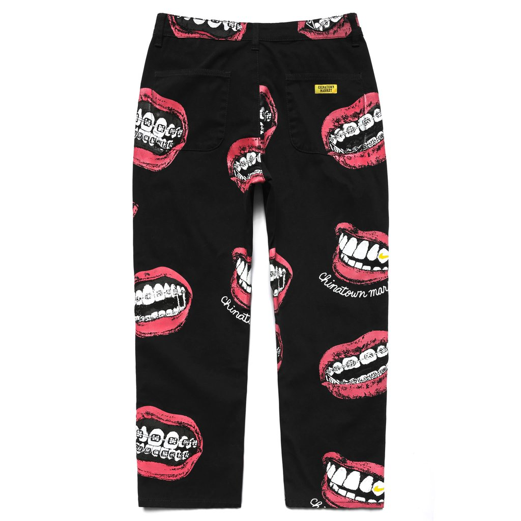 【CHINATOWN MARKET/チャイナタウンマーケット】MOUTH PANTS パンツ / BLACK