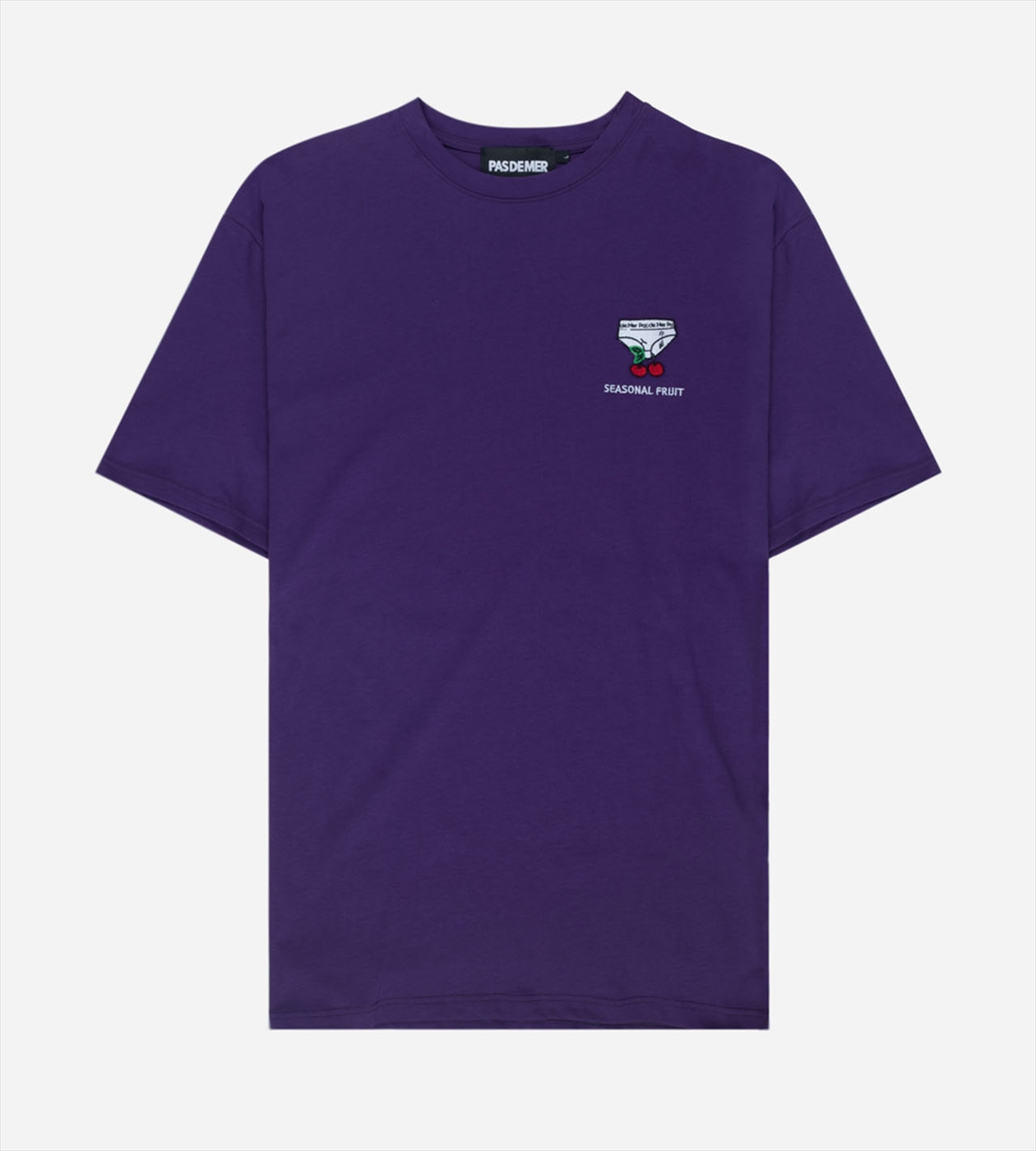 【PAS DE MER/パドゥメ】SEASONAL T-SHIRT Tシャツ / PURPLE