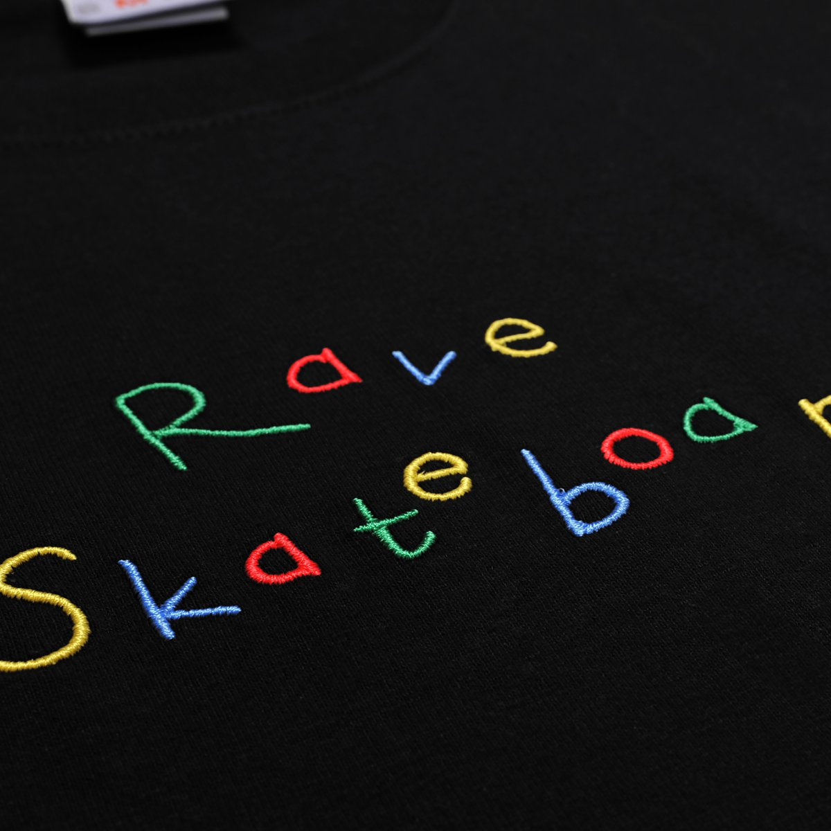 【RAVE SKATEBOARDS/レイブスケートボード】ZONKED PLANET TEE Tシャツ / BLACK