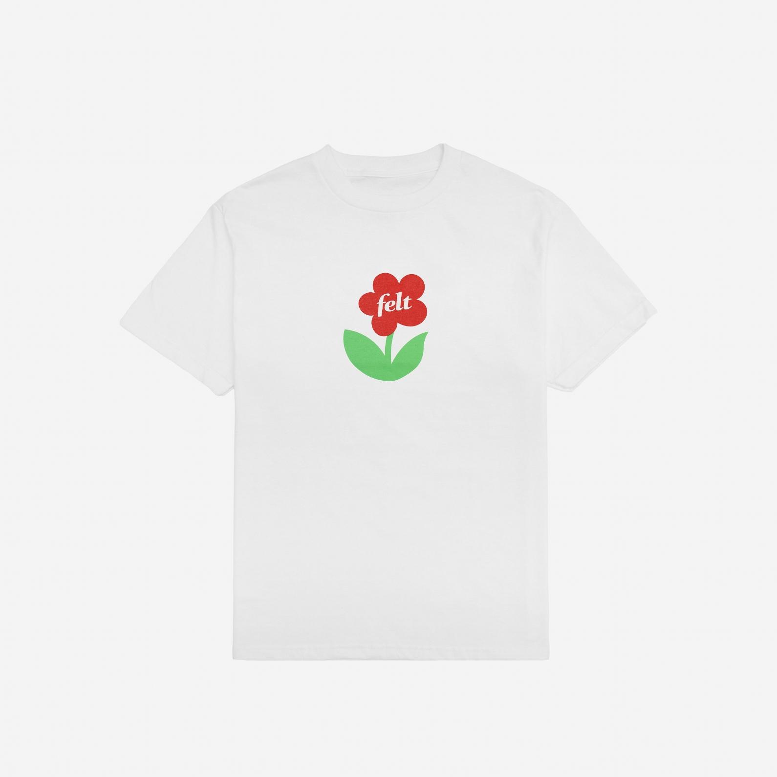 【FELT/フェルト】HEAVEN TEE SHIRT Tシャツ / WHITE