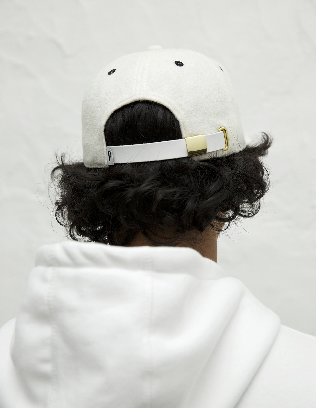 【PAS DE MER/パドゥメ】B.O.V. CAP キャップ / WHITE
