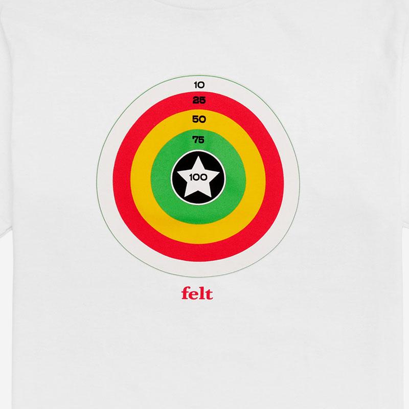【FELT/フェルト】STARGET TEE SHIRT Tシャツ / WHITE