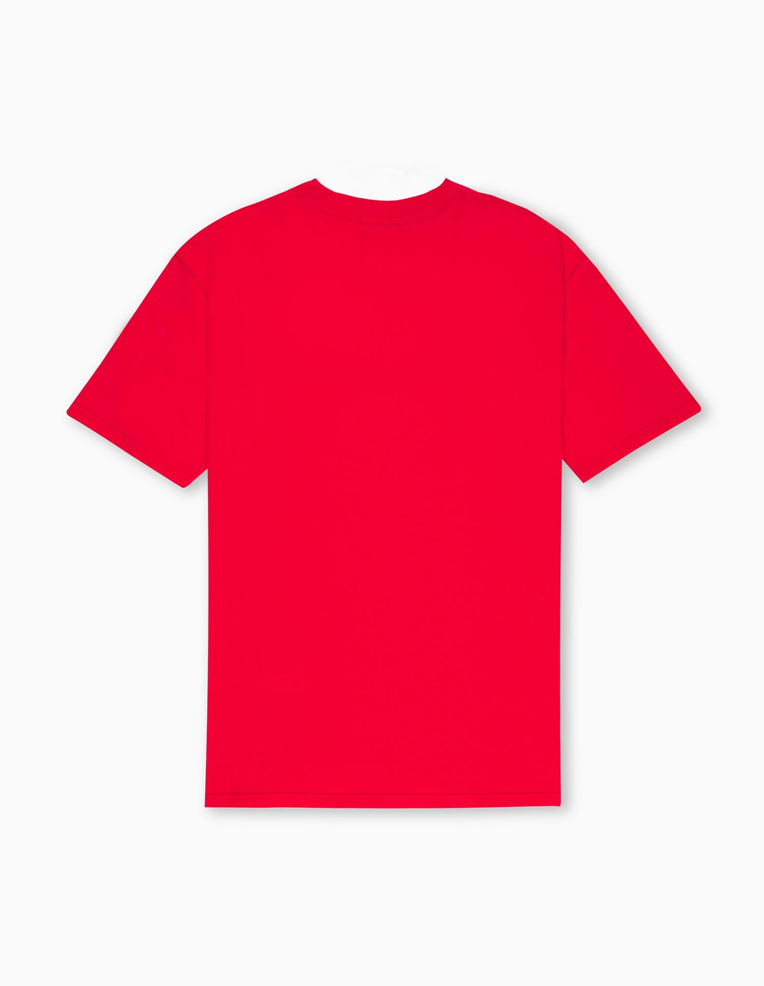 【PAS DE MER/パドゥメ】SUBURB T-SHIRT Tシャツ / RED BERRY