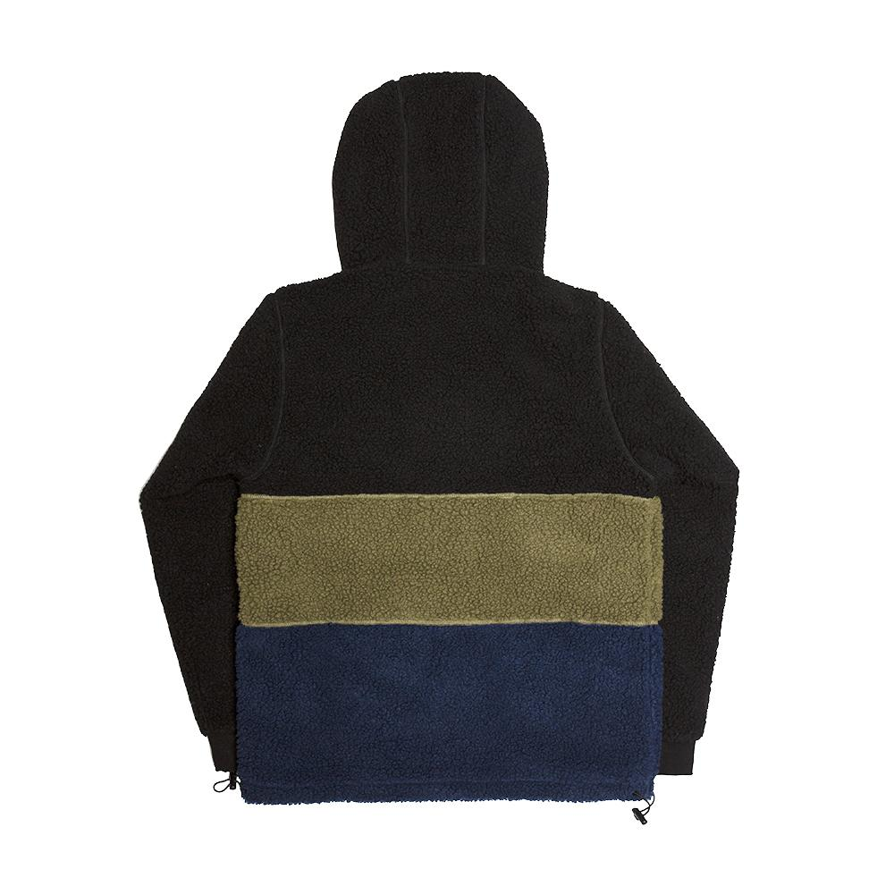 【ALLTIMERS/オールタイマーズ】COUSINS HOODED TOP パーカー / LACK GREEN NAVY