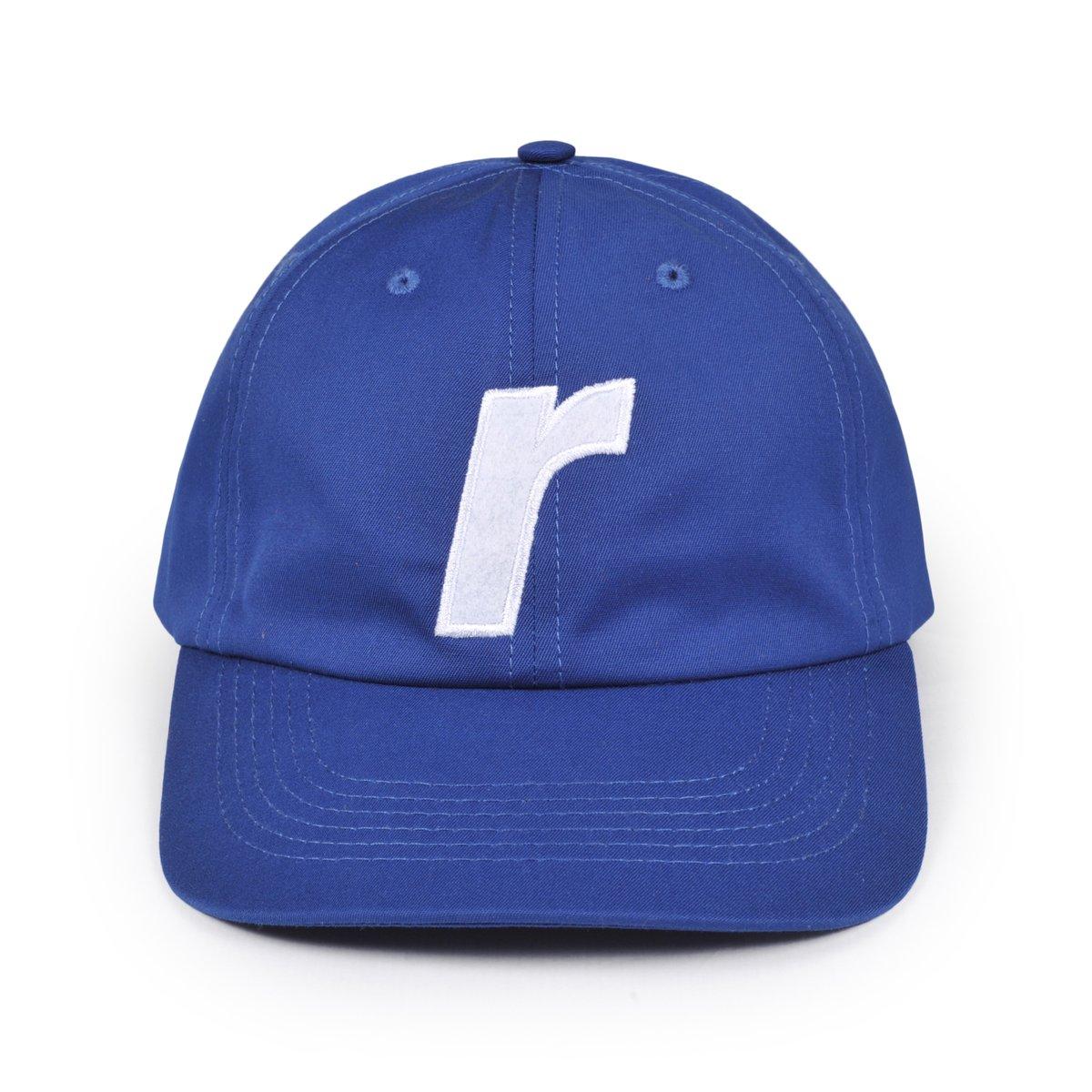 【RAVE SKATEBOARDS/レイブスケートボード】R LOGO CAP ダドキャップ / NAVY
