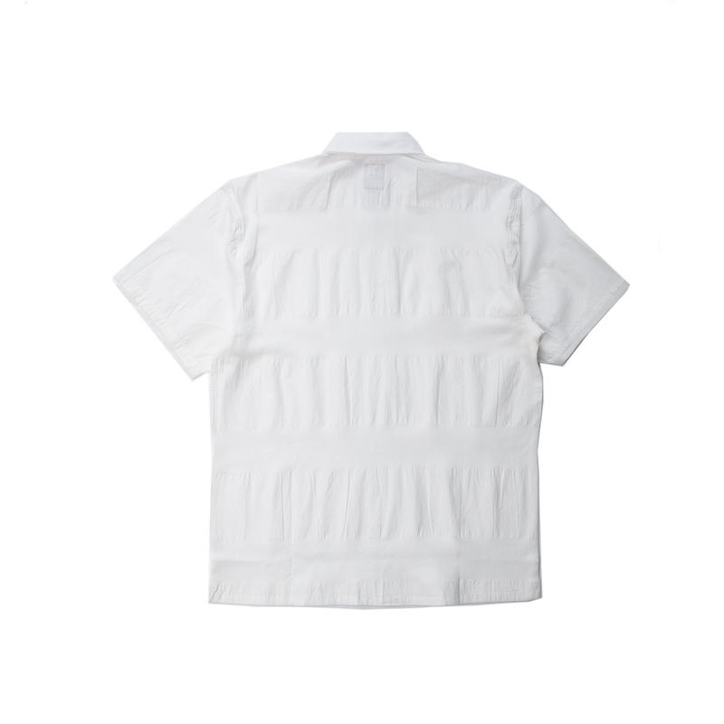 【PUBLISH BRAND/パブリッシュブランド】BAZ 半袖シャツ / WHITE
