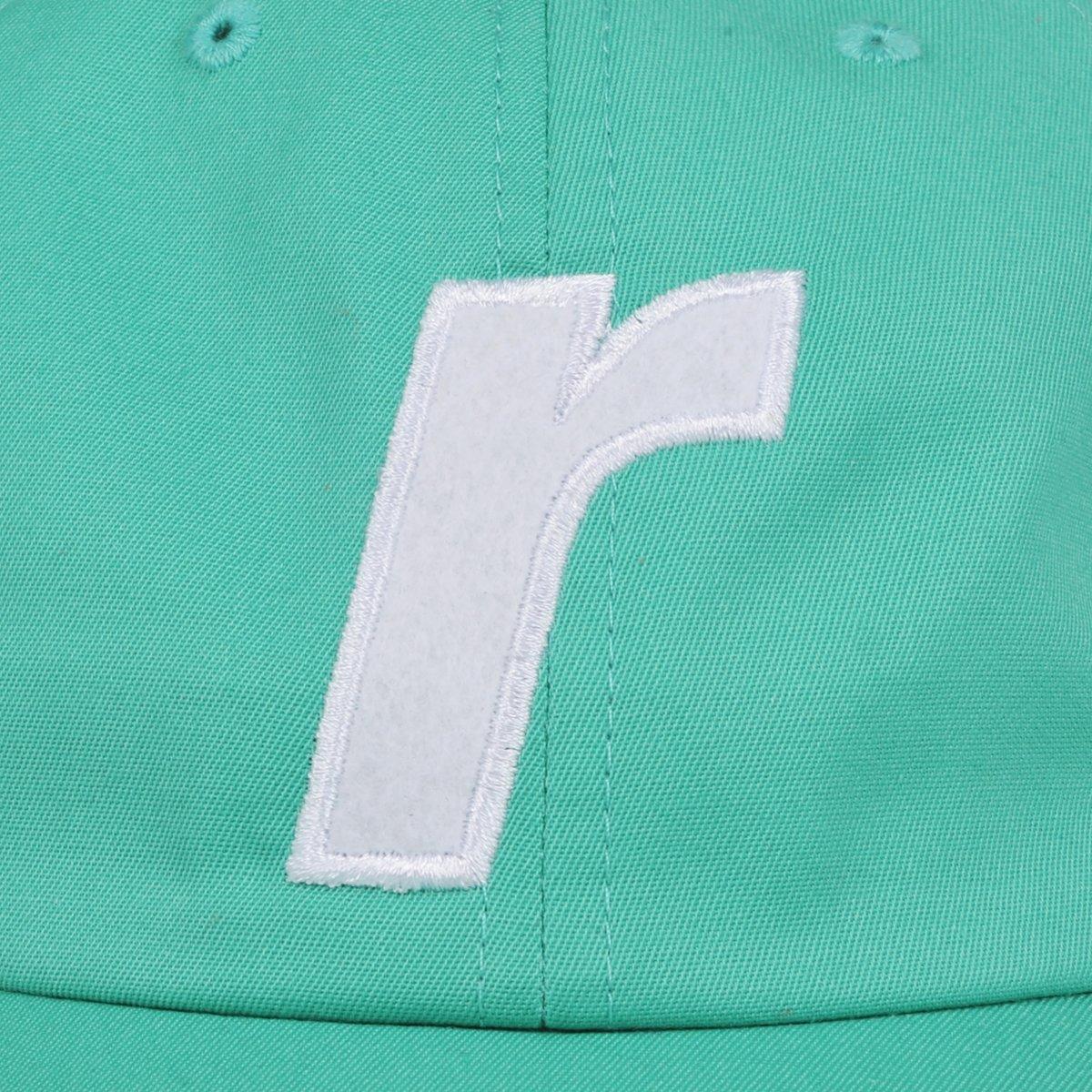 【RAVE SKATEBOARDS/レイブスケートボード】R LOGO CAP ダドキャップ / JADE