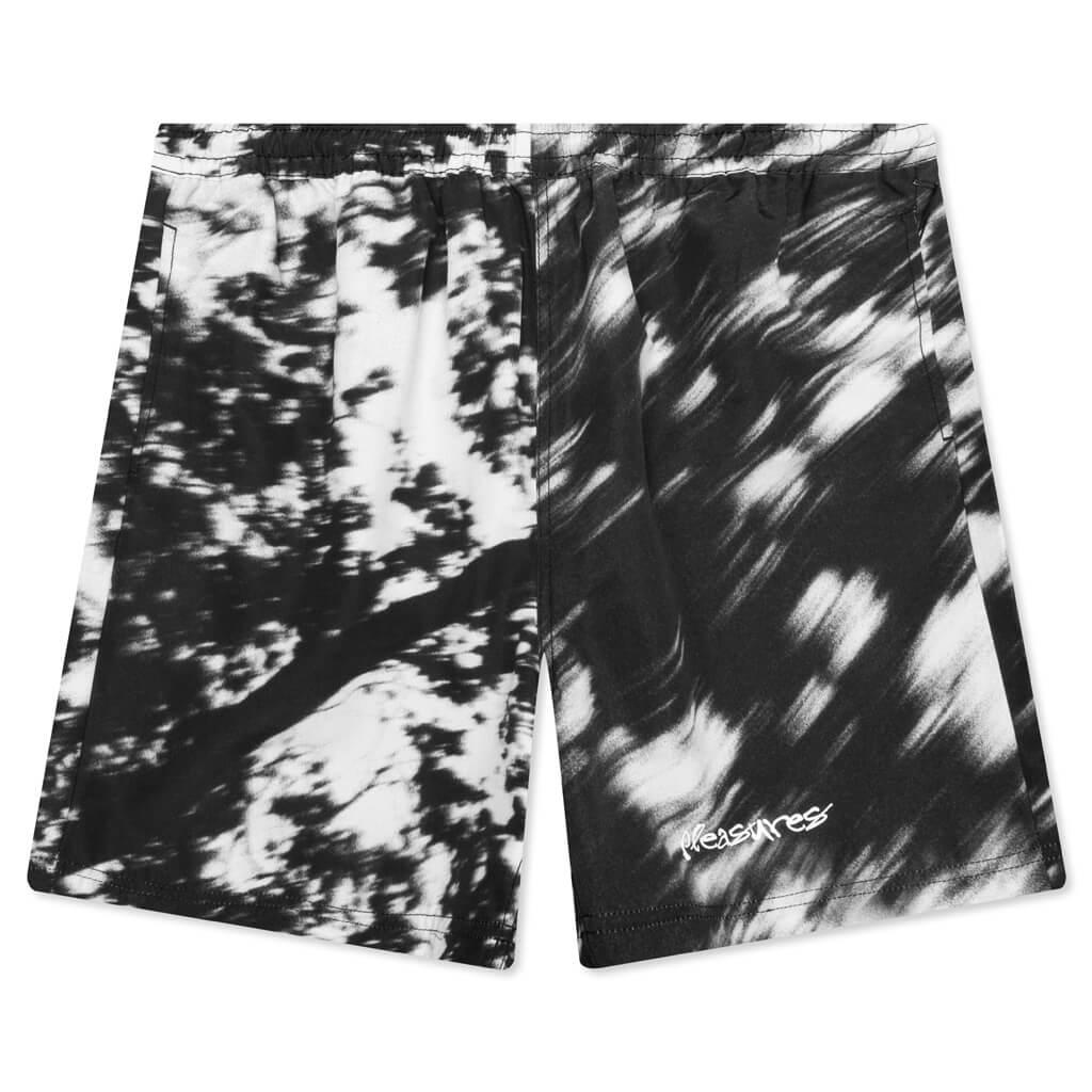 【PLEASURES/プレジャーズ】HYDE NYLON SHORTS ショートパンツ / BLACK