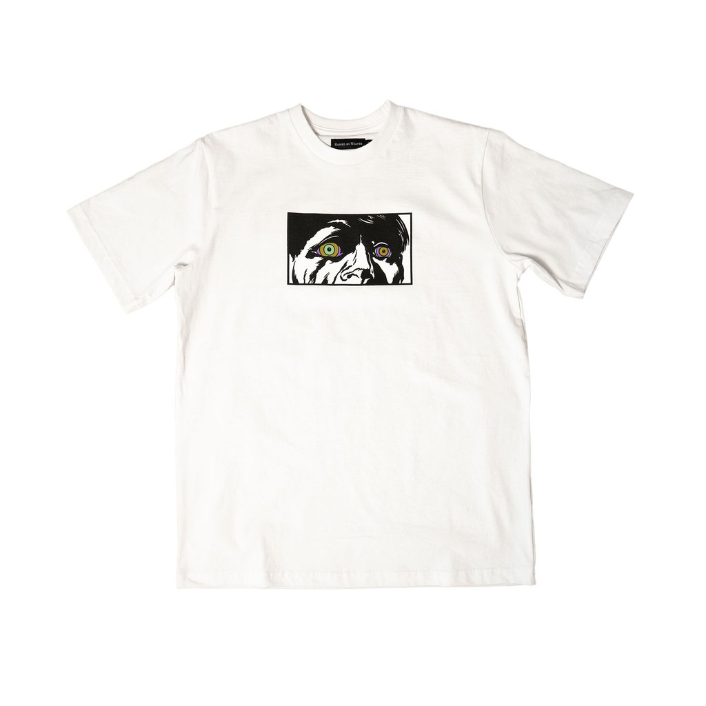 【RAISED BY WOLVES/レイズドバイウルブス】JUNGLE MADNESS TEE Tシャツ / WHITE