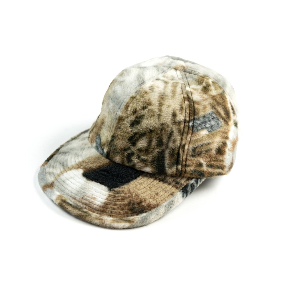 【RAISED BY WOLVES/レイズドバイウルブス】REALTREE DUCKS & FISH POLAR FLEECE 6 PANEL CAP ストラップバックキャップ / REALTREE