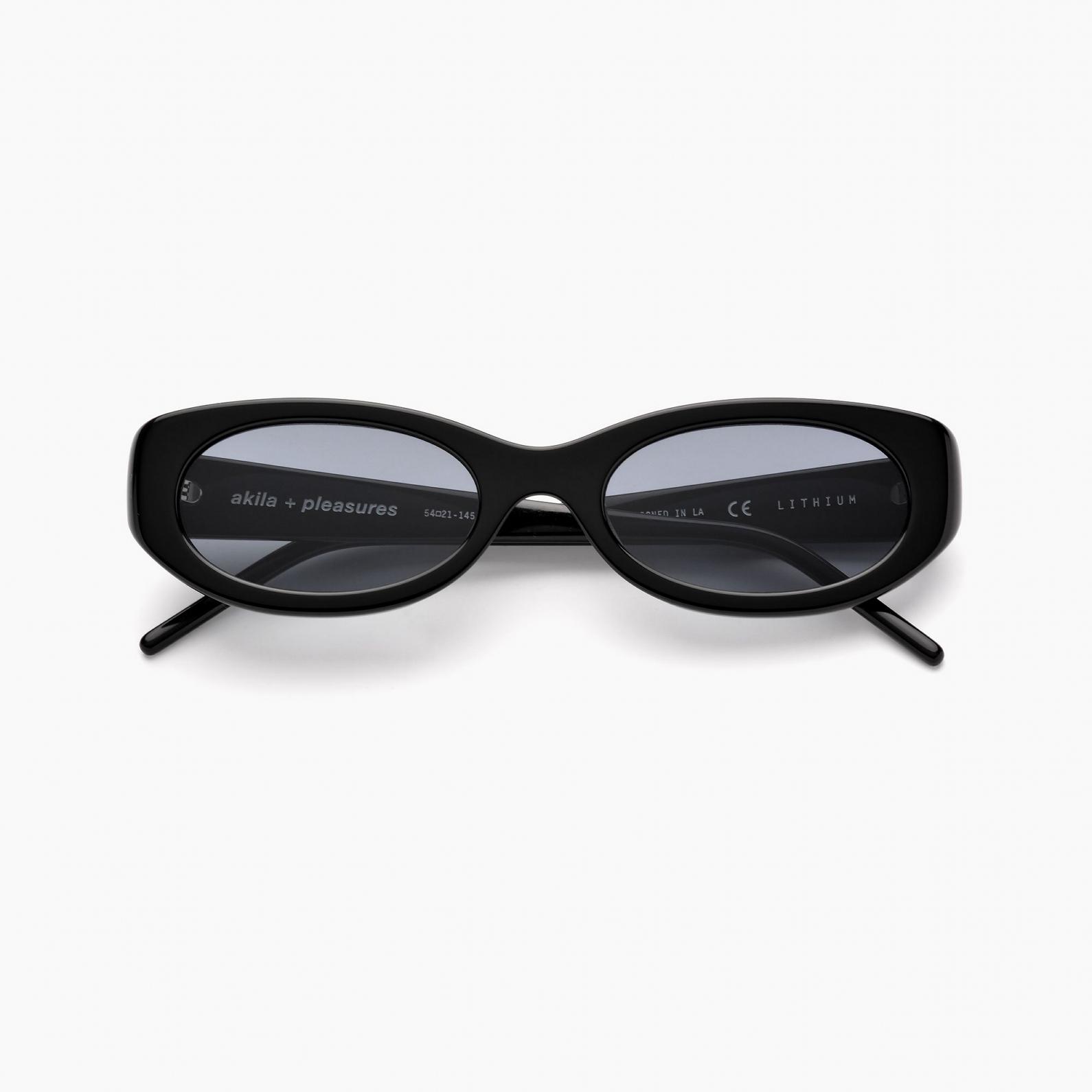 【PLEASURES/プレジャーズ】LITHIUM SUNGLASSES サングラス / BLACK