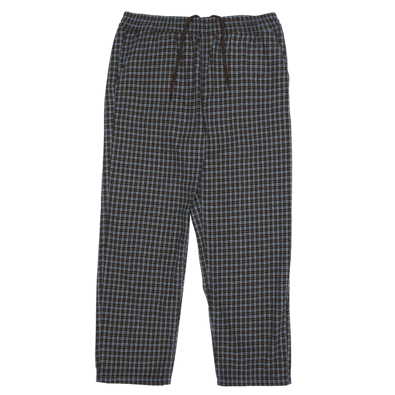 【PLEASURES/プレジャーズ】IGNITION PLAID PANT パンツ / BROWN